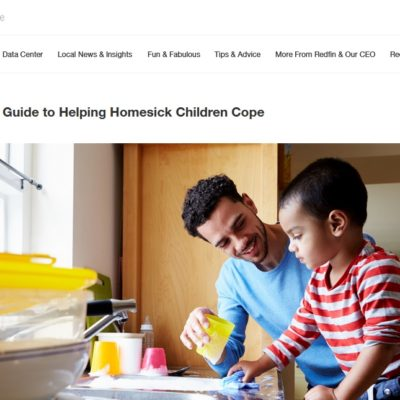Redfin: The Caregiver's Guide to Helping Homesick Children Cope